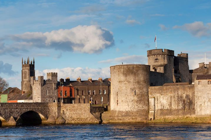 King Johns Castle in Limerick City